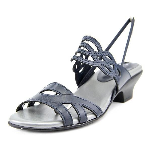 Judith Rio Women  Open-Toe Synthetic Blue Slingback Sandal