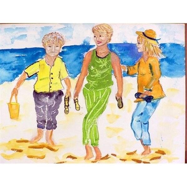 Betsy Drake DM415 Grandma At The Beach Doormat 18 x 26