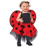Lady Bug Infant Halloween Costume (UP TO 24M) - 0-6 months