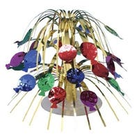 "Club Pack of 12 Mini Multi Balloons Cascading Centerpiece Party Decorations 8.5"" - GOLD"