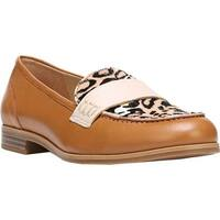 Naturalizer Women's Veronica Loafer Camelot Leather/Cheetah Print