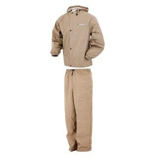 Frogg Toggs Pro Lite Rain Suit Khaki - M/L PL12140-04M/L PL12140-04M/L