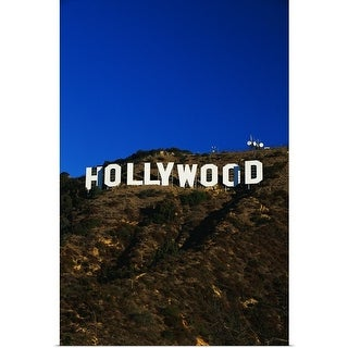 Poster Print entitled Hollywood Sign Los Angeles CA - multi-color