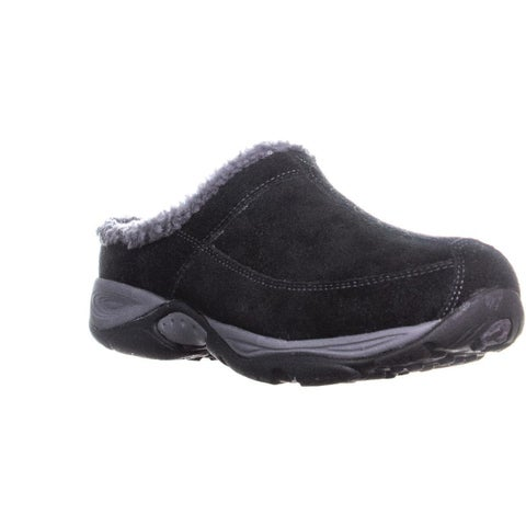 Easy Spirit Exchange Comfort Clogs, Black/Dark Gray - 9 us