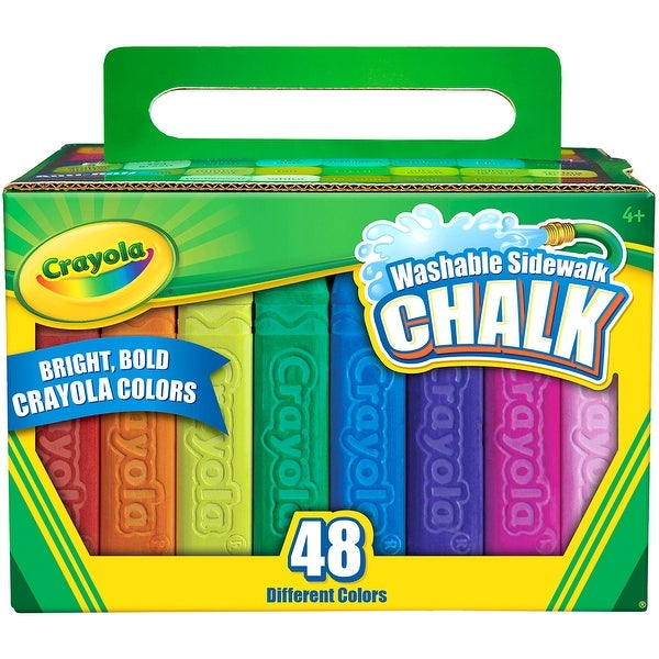 Crayola Washable Sidewalk Chalk