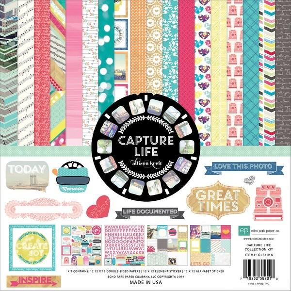 """Echo Park Collection Kit 12""""X12""""-Capture Life"""
