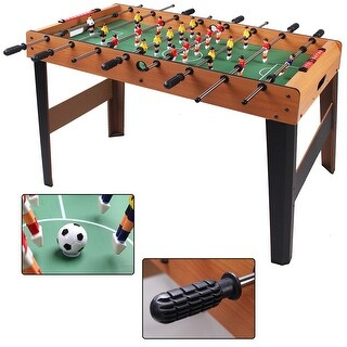 Costway 45'' Foosball Table Arcade Game Christmas Gift Soccer For Kids Indooor Outdoor