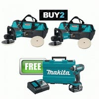 Mueller Kueps  7 in. Variable Speed Electronic Polisher Kit