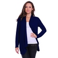 Simply Ravishing Women's Basic Long Sleeve Open Cardigan (Size: Small-5X) - Thumbnail 12