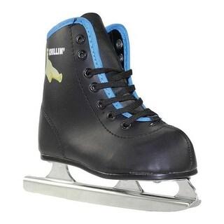 American Boys' 385 Chillin' Double Runner Ice Skate Black