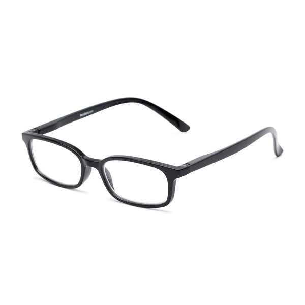 Readers.com The Brookside Rectangle Reading Glasses. Opens flyout.