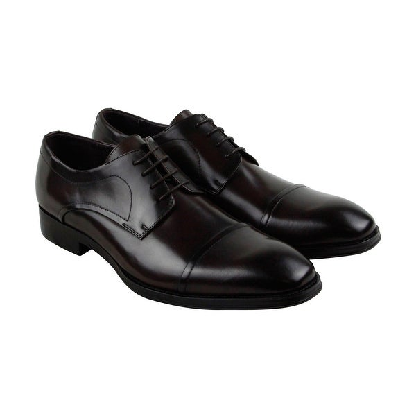 Kenneth Cole New York Light Jolt Mens Brown Casual Dress Oxfords Shoes