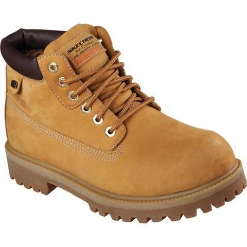 Skechers Men's Sergeants Verdict Rugged Ankle Boot Wheat