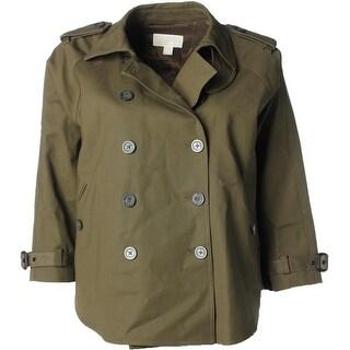 Michael Kors Womens Lined Outerwear Jacket - XL