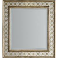 "Hooker Furniture 5414-90009 34-1/4"" x 37"" Rectangular Framed Mirror from the Sanctuary Collection - avalon silver leaf - N/A"