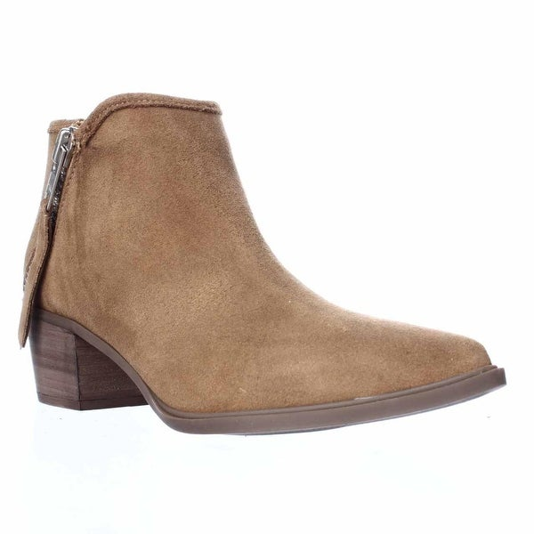 STEVEN by Steve Madden Doris Ankle Booties, Camel