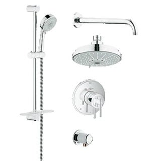 hansgrohe bathtub shower. grohe 35 056 grohflex thermostatic shower faucet package with dreamspray technology hansgrohe bathtub