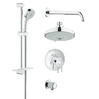 Grohe 35 056 GrohFlex Thermostatic Shower Faucet Package with DreamSpray Technology
