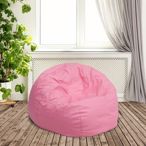 Small Refillable Bean Bag Chair for Kids and Teens
