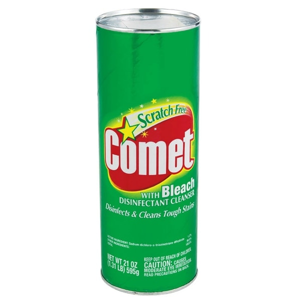 Comet 84919490 Cleanser With Bleach, 21 Oz