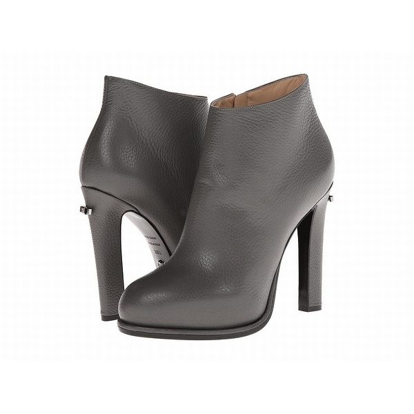 Viktor & Rolf NEW Gray Shoes Size 9.5M Ankle Leather Booties