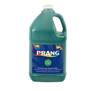 Prang Non-Toxic Ready-to-Use Liquid Tempera Paint, 1 gal Squeeze Bottle, Green