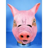 Pig Adult Costume Mask - Pink