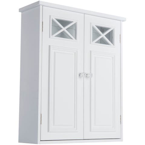"Elegant Home Fashions Virgo 2-door Wall Cabinet - 22""h x 18""w x 5""d"