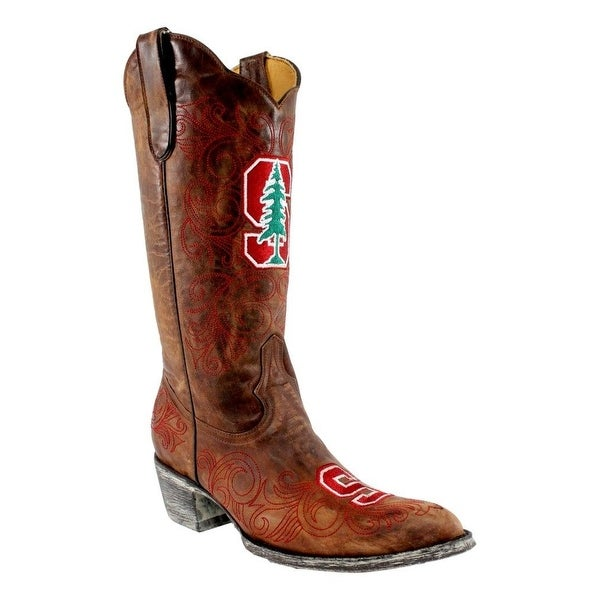 Gameday Boots Womens Stanford Pointed Toe Leather