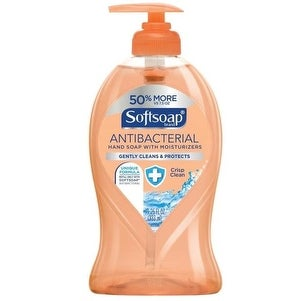 Softsoap US03562A Antibacterial Liquid Hand Soap, Crisp Clean, 11.5 Oz