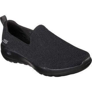 Skechers Women's GOwalk Joy Activate Slip-On Walking Shoe Black/Black