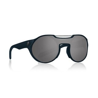 Dragon Alliance Deadball Matte Deep Navy Frame with Silver Ion Lens Sunglasses