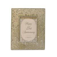 "25th Silver Wedding Anniversary 3.5"" x 5"" Photo Frame #60849"