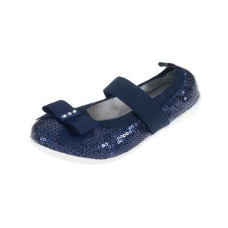 Lelli Kelly Lk4700 Girl's Sequin Ballet Flats With Strap