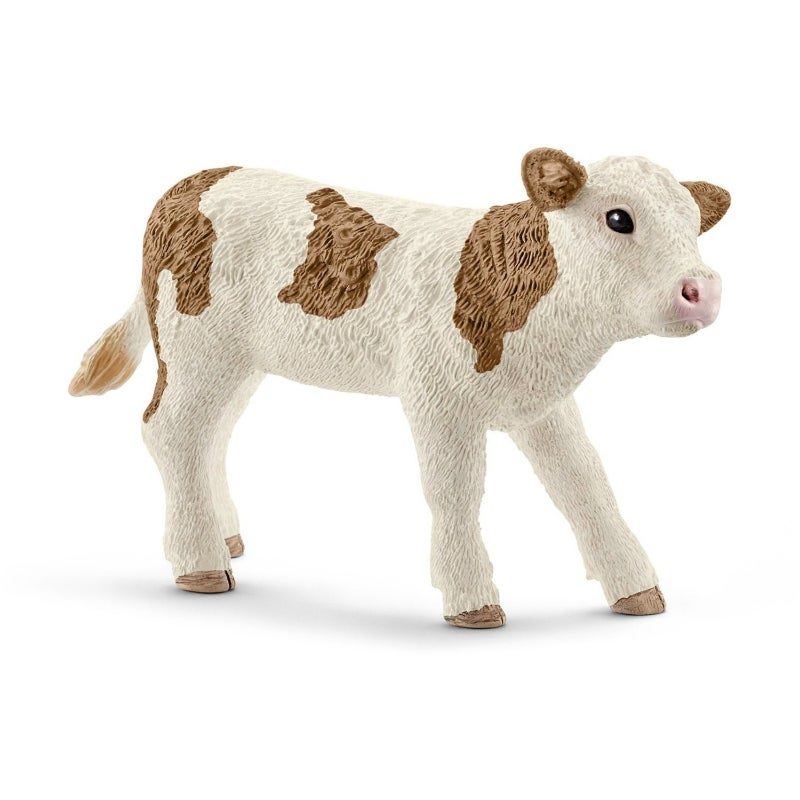 Schleich 13797 Cow Black Multicolored 5 1//8in Series Farm Animal