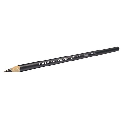Prismacolor Premier Ultra Smooth Graphite Sketch Pencil, Ebony, Pack of 12
