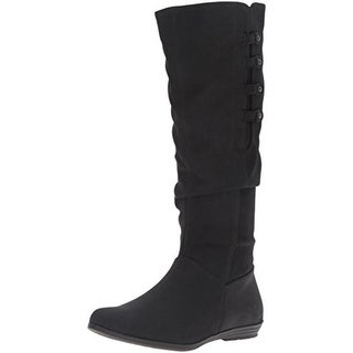 Cliffs by White Mountain Womens Fordham Mid-Calf Boots Textured Slouchy - 6.5 medium (b,m)