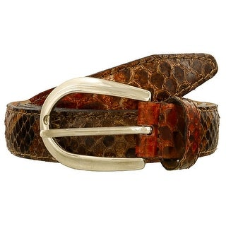 Renato Balestra Contia RO Red Python Leather Womens Belt