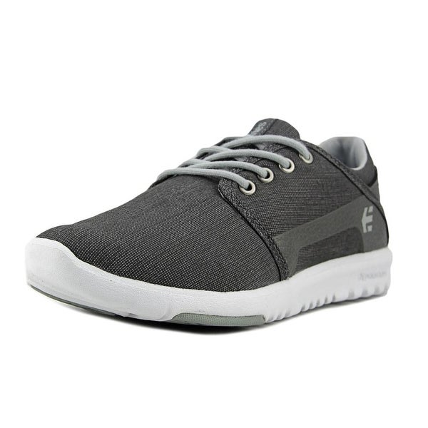 6b25feba54c95 Shop Etnies Scout Youth Round Toe Canvas Gray Sneakers - Free ...
