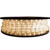 Warm White LED Rope Light - 120 Volt - 65 Feet