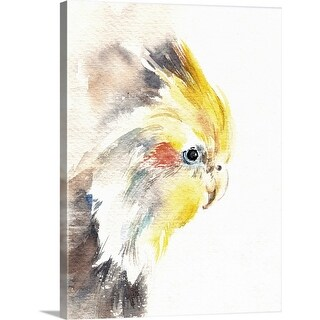 """""""Cockatiel"""" Canvas Wall Art"""