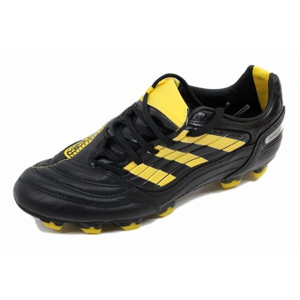 Adidas Men's P Absolado X Fg Black/Yellow-Metallic Silver G14206 Size 6.5