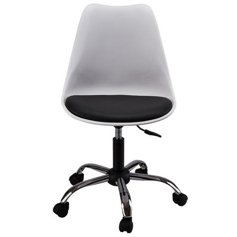 AOOLIVE Metal office chair,Dark Gray