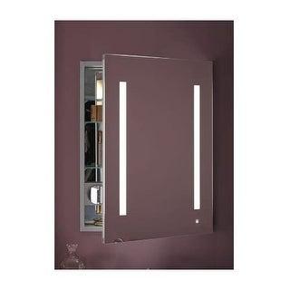 "Robern AC2430D4P1R AiO 24"" x 30"" x 4"" Single Door Medicine Cabinet with Right Hi"