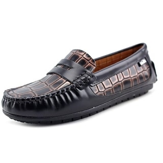 Venettini 55-Mystic Round Toe Leather Loafer