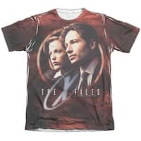 The X-Files Truth Seekers (Front Back Print) Mens Sublimation Shirt