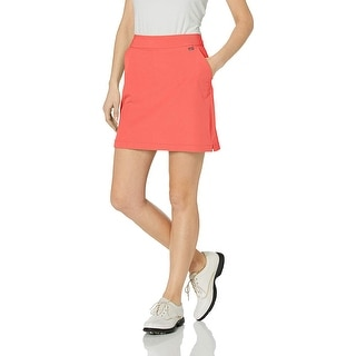 Greg Norman Women's Ml75 Pull-on Skort, Coral Sunrise,, Coral Sunrise, Size 6.0 - 6