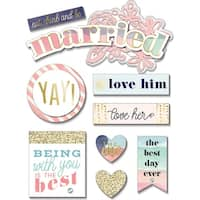Soft Spoken Themed Embellishments-Married