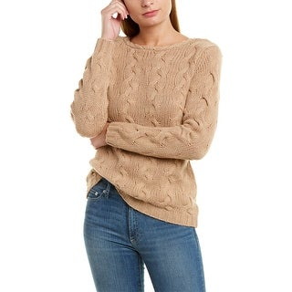 525 America Braided Knit Wool & Cashmere-Blend Sweater