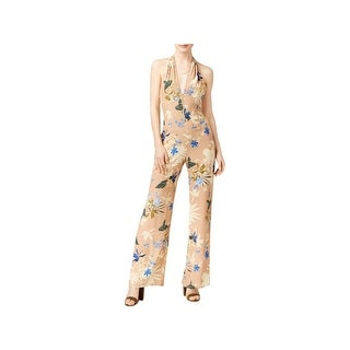 Kin Collective Womens ASTR Cassandra Jumpsuit Plunge Textured (2 options available)
